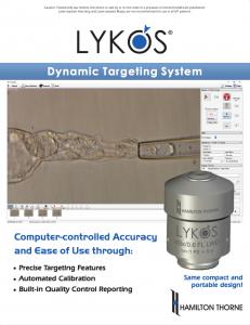 Lykos - Dynamic Targeting System Brochure
